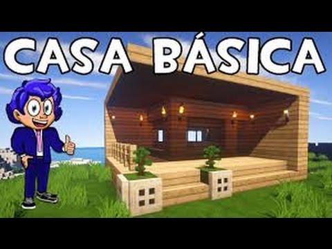 Mi casa muy peque a y de madera minecraft parte 1 youtube for Casa moderna y pequena en minecraft