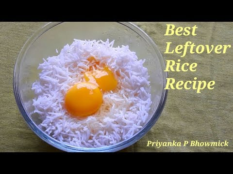Quick And Easy #Leftover #Rice Recipe/ #Lunch Box Recipe/ #Egg Fried Rice #recipe