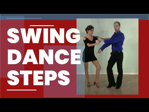 Swing dance steps - East Coast Swing basic steps for beginners