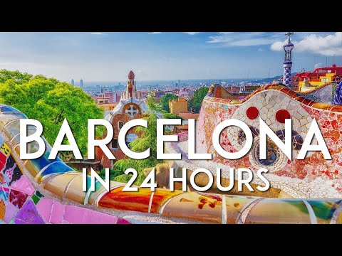 One day in BARCELONA | 24-hour Barcelona Travel Guide