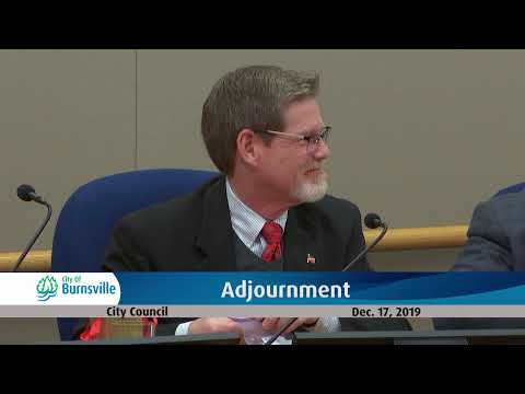 Regular City Council - 17 Dec 2019 from YouTube · Duration:  2 hours 10 minutes 36 seconds