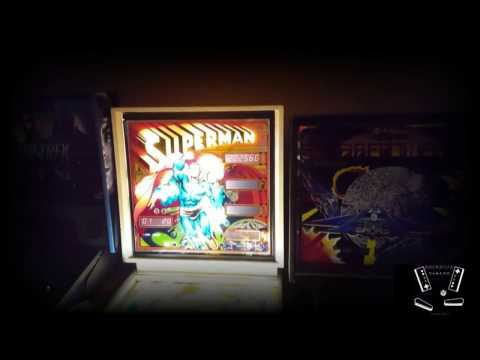 Superman (Atari 1979) Pinball Gameplay Video