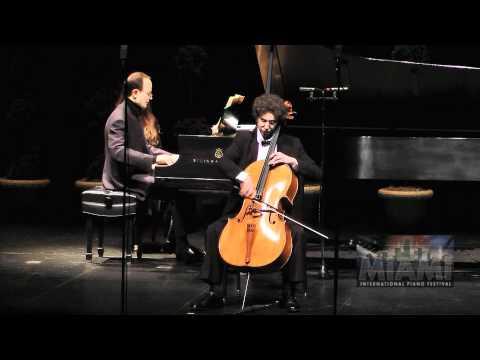 F CHOPIN POLONAISE BRILLANTE OLIVER ALDORT cello ILYA ITIN piano