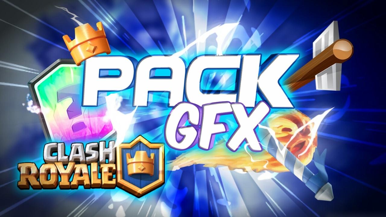 El Mejor Pack De Clash Royale Gfx Imágenes Png Clash Royale Gfx Clash Royale