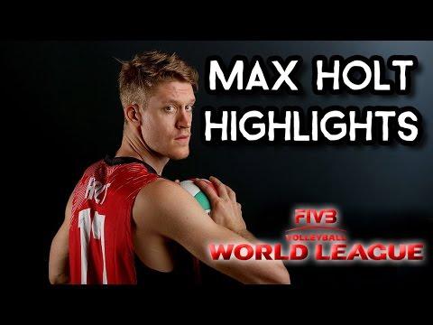 Max Holt Highlights - 2016 FIVB World League Volleyball Team USA