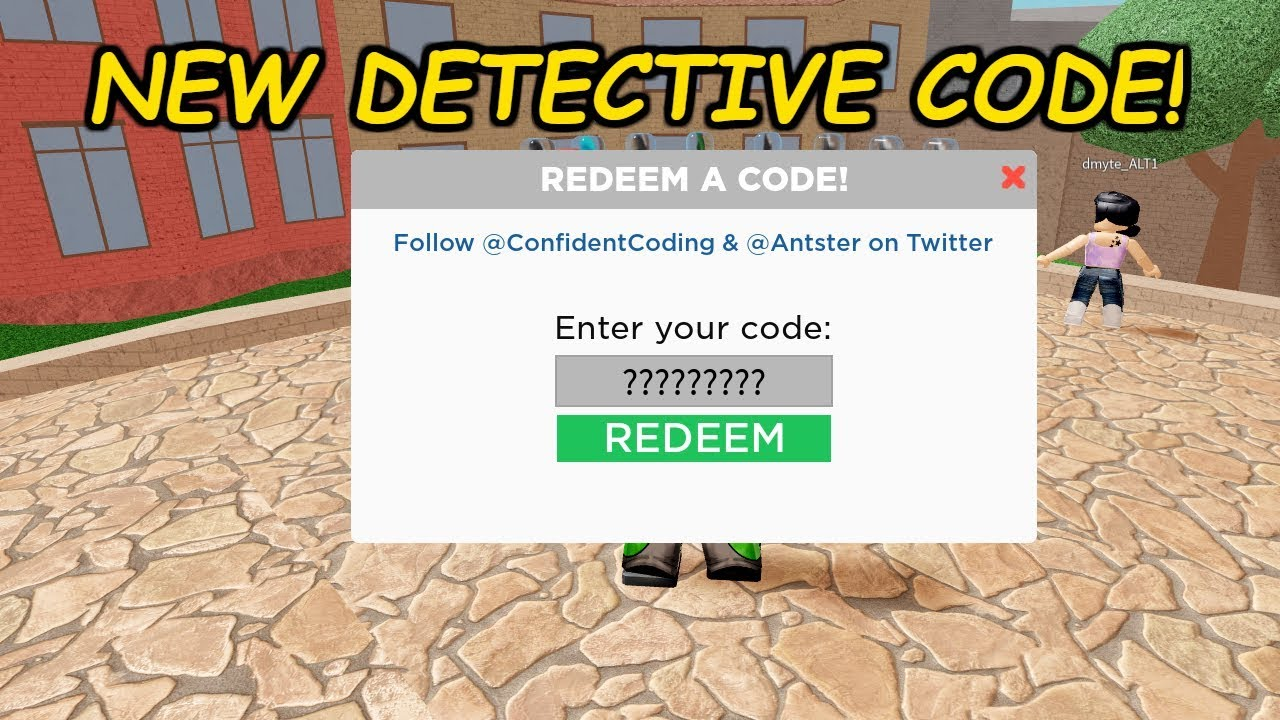 codes for detective roblox