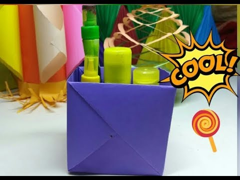 How To Make A Strong Box From Paper | Origmai Box Idea | DIY Paper Box