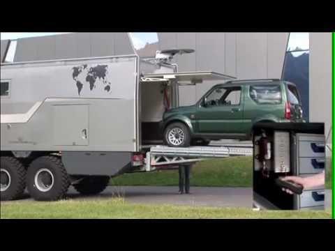 ACTION MOBIL Beladesystem für schwere Lasten - YouTube
