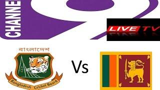 2nd T20 match live 9 -- Bangladesh vs Srilanka