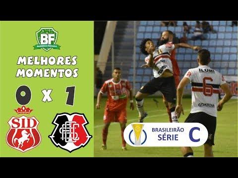 Imperatriz-MA 0 x 1 Santa Cruz   Brasileirão Série C 2019   Melhores Momentos   Barrinha Fechada