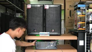 [Sơn Ca Audio] Review bộ dàn karaoke khủng, Amply DJ Pro S-1000 và Loa Befier SH-12