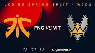 Video Fnatic vs Vitality - LCS EU Spring Split 2018 - Week 7 Day 2 - League of Legends download MP3, 3GP, MP4, WEBM, AVI, FLV Juli 2018