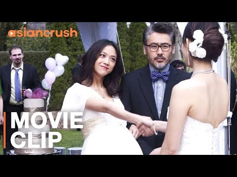 Showing up to his ex's wedding pregnant & wearing a wedding dress | Clip from 'Finding Mr. Right'