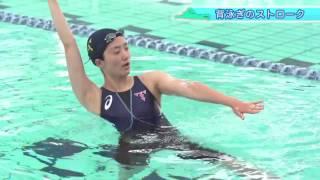 親子で一緒に水泳教室【Lesson-3】~背泳ぎ~