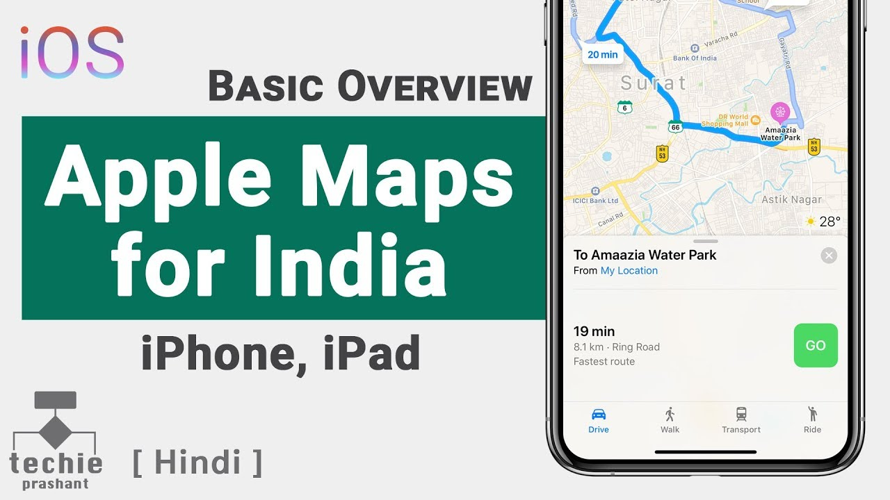 How to Use Apple Maps in India - iPhone, iPad   Apple Maps ... Can You Use Apple Maps Offline on