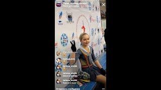 Дарья Батяева,   1 место, Произвольная программа (04/12/2018, Якутия)