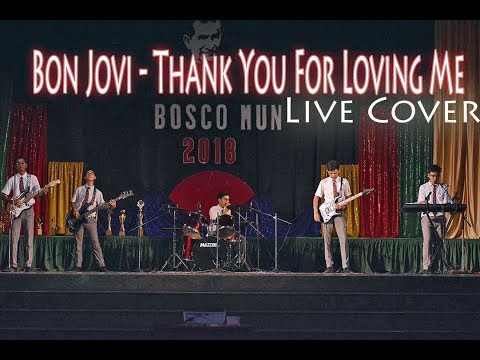 Bon Jovi - Thank You For Loving Me (Live Cover )