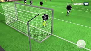 Unstopable Shoot  Incredible Match  Stickman Soccer 2018