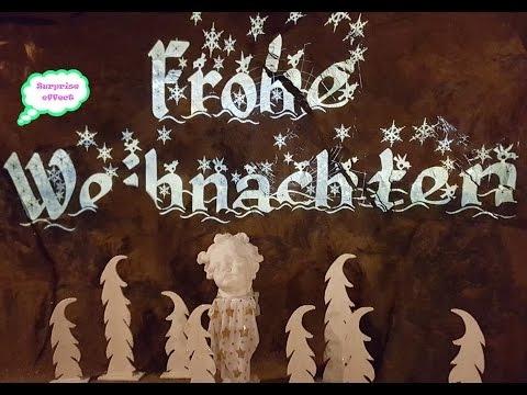 """Weihnachtsmarkt Besucherbergwerk """"Tiefer Stollen"""" Christmas market an old disused deep mine"""