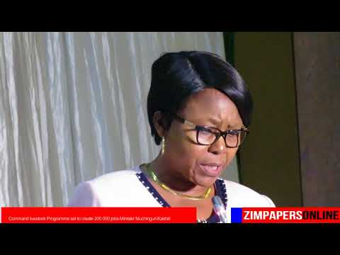Command livestock Programme set to create 200 000 jobs Minister Muchinguri Kashiri