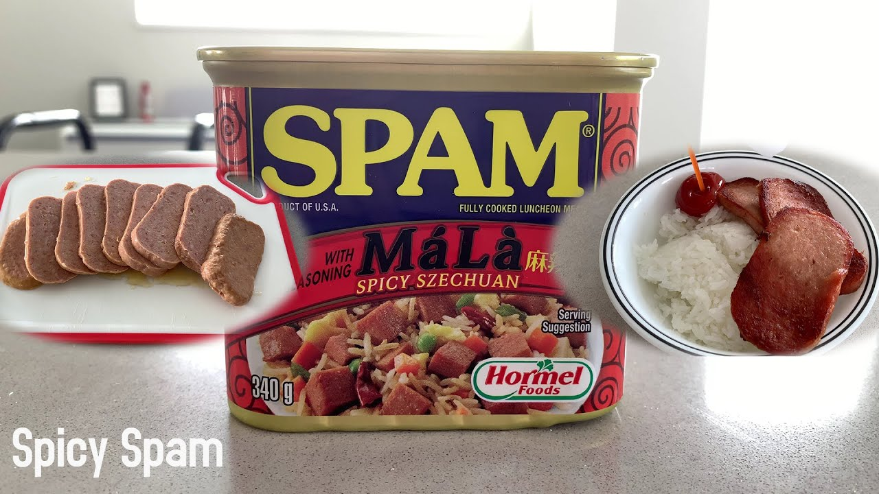 spicy spam with má là szechuan seasoning  youtube