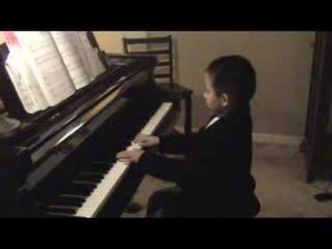 Brandon Recital Practice - Blow Me Down