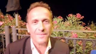 """Uccio De Santis: """"A Vasto ho tanti amici e passeggiando l'ho vista ancora più bella"""""""