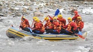 Рафтинг (зимний сплав), Адыгея, река Белая (2013)(, 2016-01-22T19:24:52.000Z)