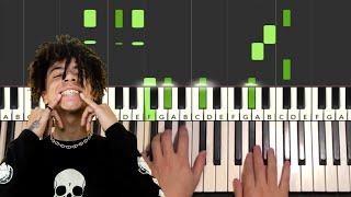 iann dior - emotions (Piano Tutorial Lesson)