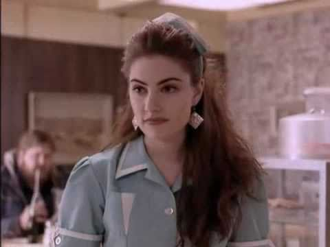 Gordon Cole and Shelly Johnson. Twin Peaks