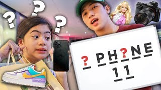 Guess The Word, I'll Buy It Challenge!! | Ranz and Niana