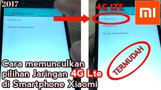 Cara membuka 4G Lte di Xiaomi (TERMUDAH)