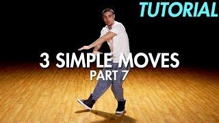 3 simple dance moves for beginners part 7 hip hop dance moves tutorial mihran kirakosian