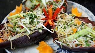 Banana Blossom Salad - Vietnamese Recipe - Cookingwithalia - Episode 297