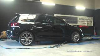 VW Golf 6 edition 35 235cv Reprogrammation Moteur @ 325cv Digiservices Paris 77 Dyno