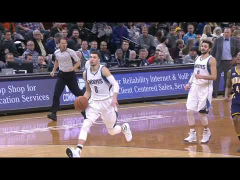 Indiana Pacers vs Minnesota Timberwolves | January 26, 2017 | NBA 2016-17 Season