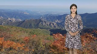 [날씨] 설악산 단풍 시작…연휴 곳곳 비 / 연합뉴스T…