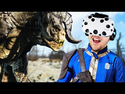 Virtual Reality Wasteland Adventure! - Fallout 4 VR Gameplay - VR HTC Vive |