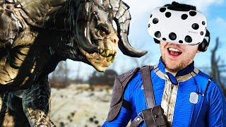 Virtual Reality Wasteland Adventure! - Fallout 4 VR Gameplay - VR HTC Vive