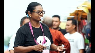Shhh...Rantau by election candidate speaks about silent protest