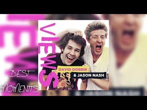 VIEWS with David Dobrik & Jason Nash (Podcast #24) | Our 40.000$ Private Jet