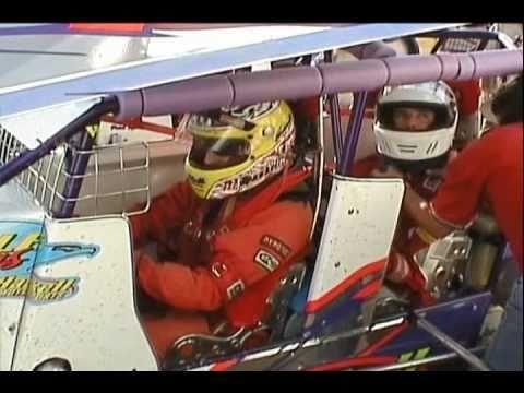 Quadriplegic rides in two seat Mini Sprint racecar
