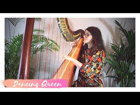Dancing Queen - ABBA - Harp cover - Sam MacAdam