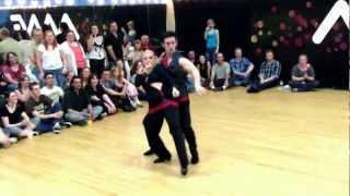 Jordan Frisbee And Tatiana Mollman -  Routine - More - Midwest Westie Fest 2012
