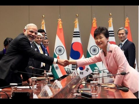 South Korea to Give $10 Billion to India for Infrastructure Development