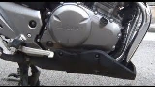 Suzuki Inazuma GW250 GSR250 Custom Belly Pan Skid Plate Fairing Installation Instructions Guide
