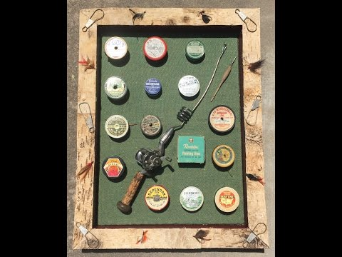 Birch Tree Shadow Boxes For My Vintage Fishing Lures