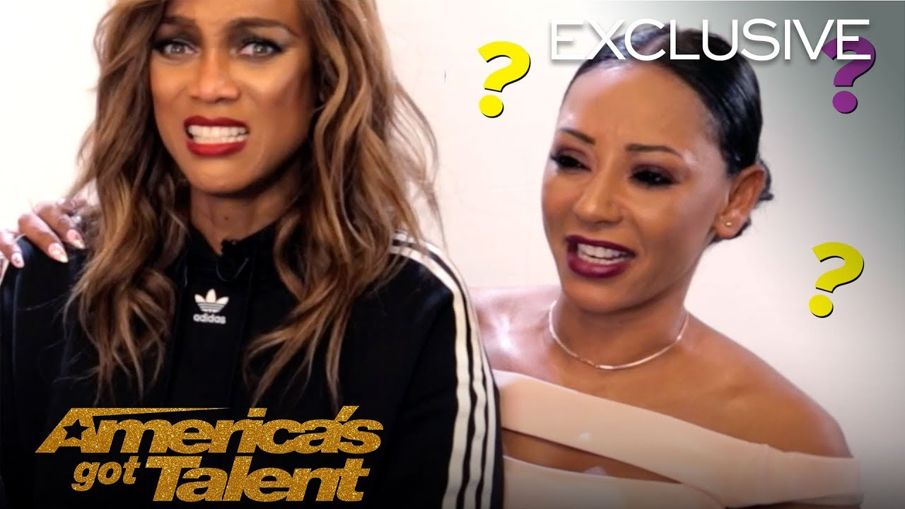 Girl Talk With Heidi Klum, Mel B, And Tyra Banks - America's Got Talent 2018
