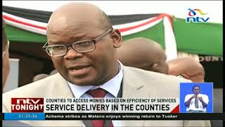National government launches Ksh 20 billion  performance-based conditional grant to counties