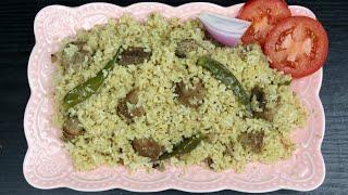 সহজ গরুর মাংসের তেহারি (টক দই/ঘী ছাড়া,ঘরের উপকরণে)| Beef Tehari Recipe/Puran Dhakar Tehari | Tehari